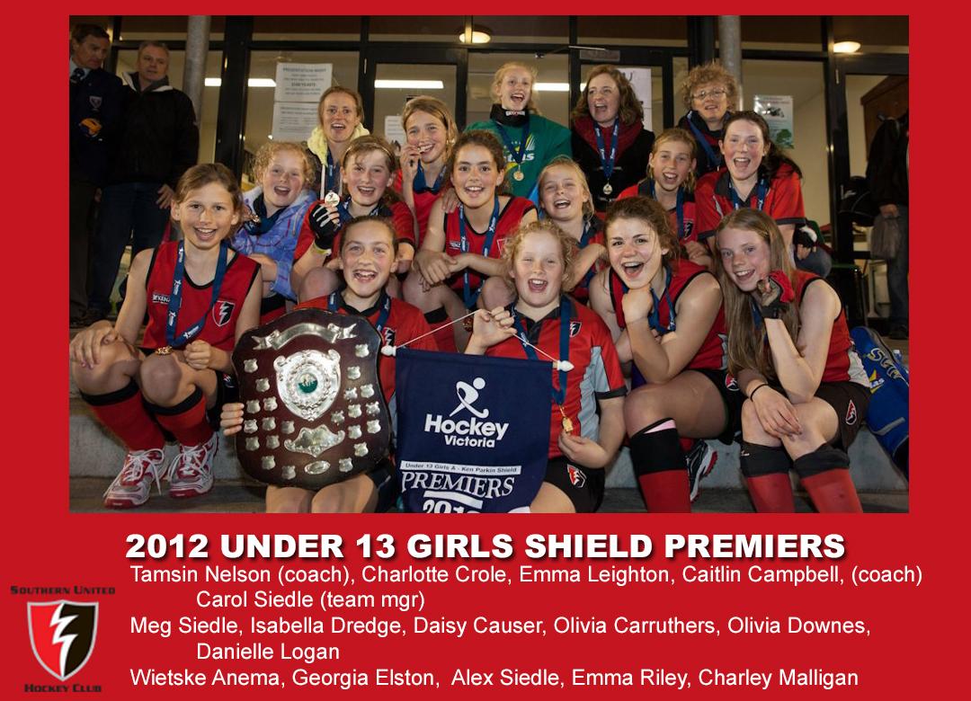 2012 outdoor U13 Girls