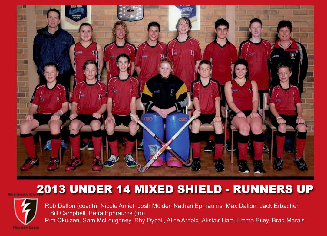 2013 Outdoor U14 Mixed Shield