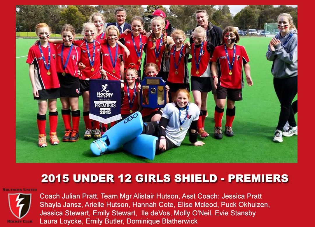 2015 Outdoor U12 Girls Shield
