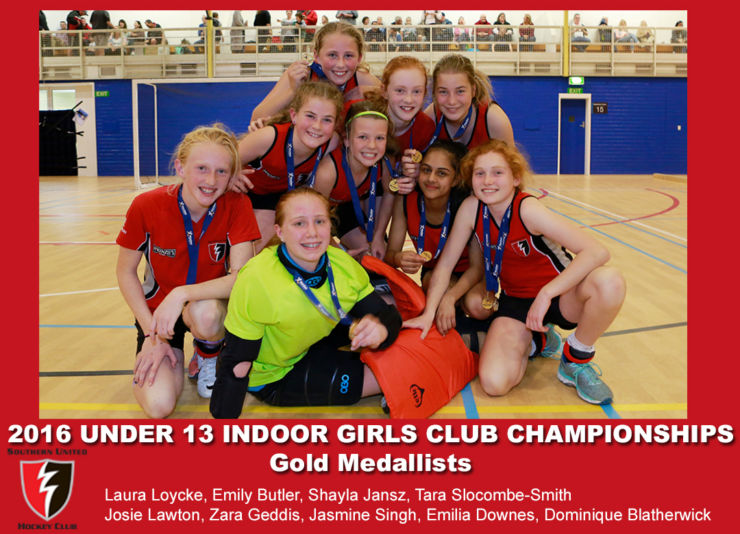2016 Indoor U13 Girls Club Champs