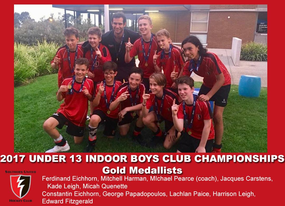 2017 Indoor U13 Boys Club Champs