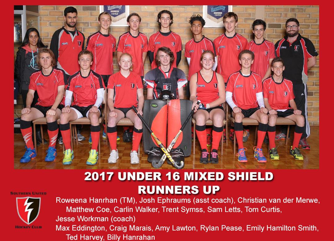 2017 Outdoor U16 Mixed Shield