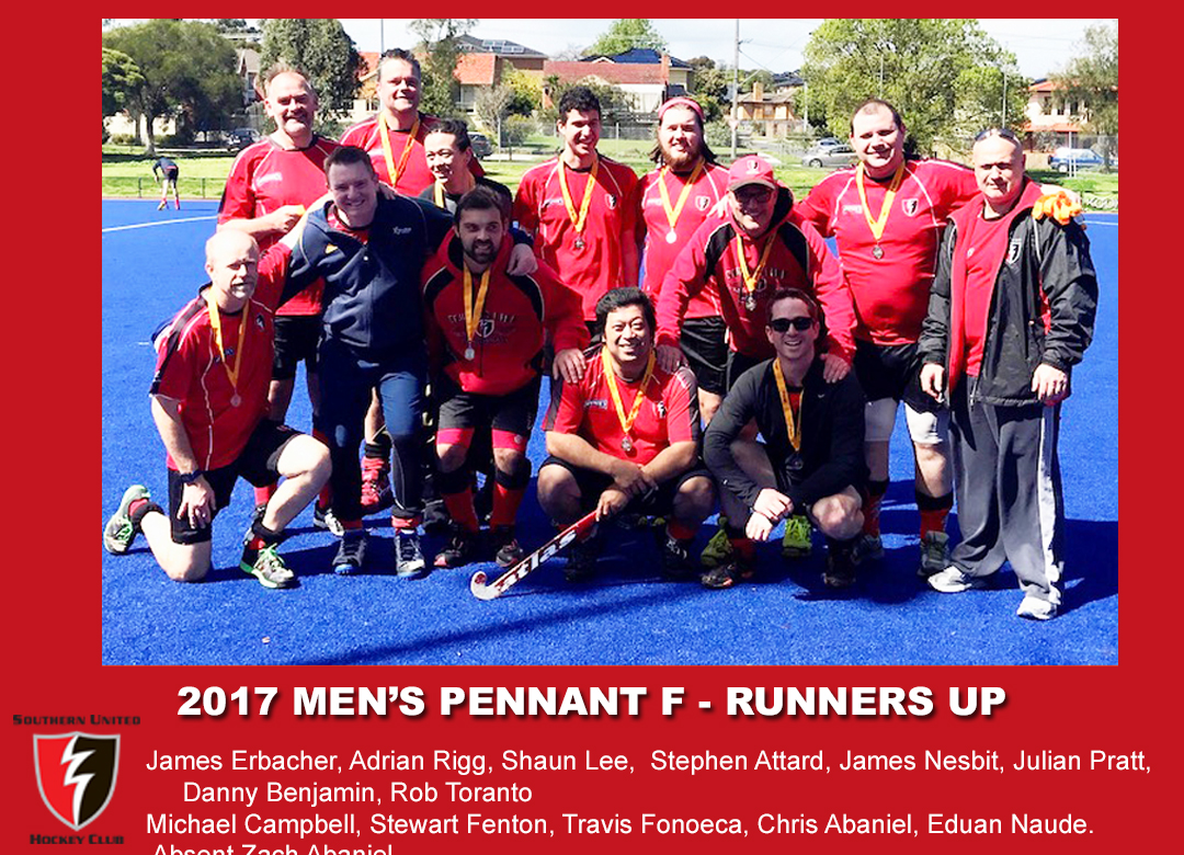 2017 Outdoor mens pennant F