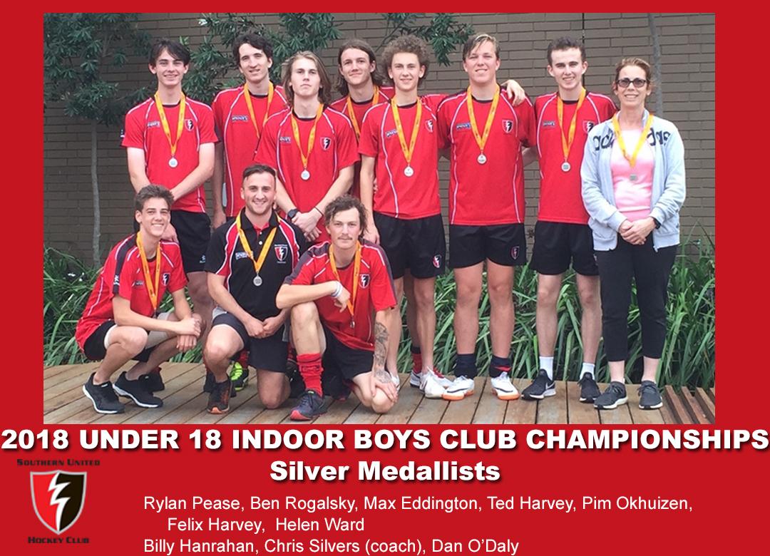 2018 Indoor U18 Boys Club Champs