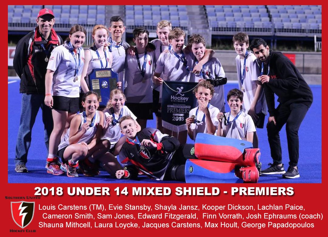 2018 Outdoor U14 Mixed Shield