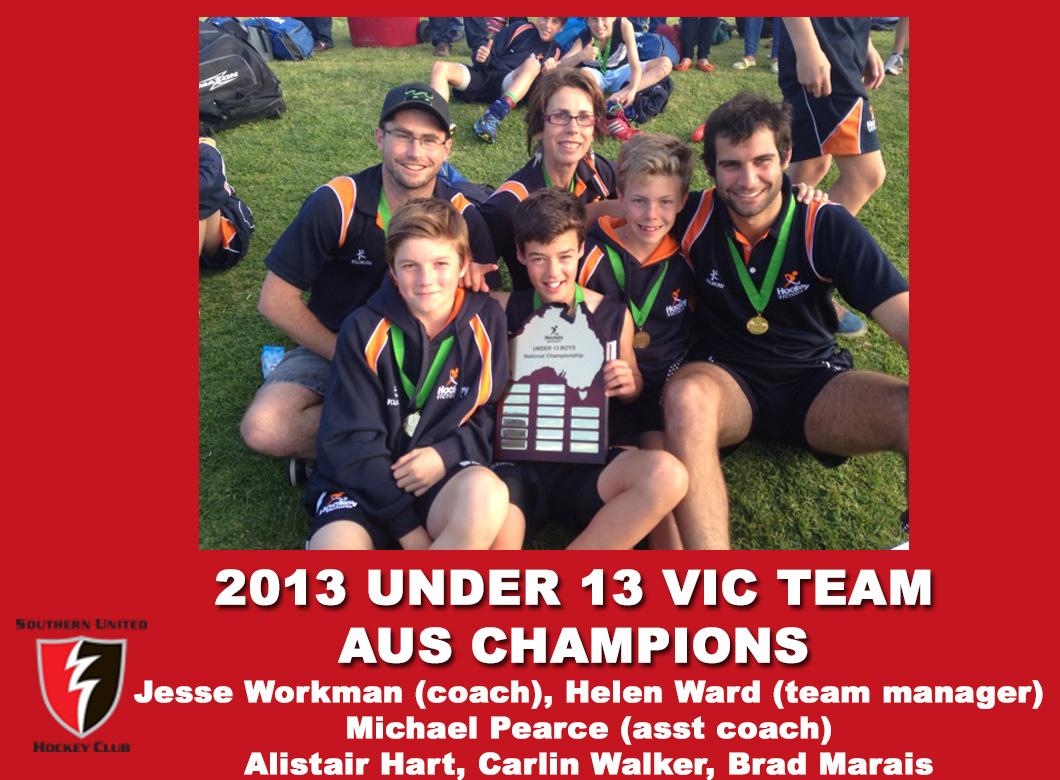 2013 Under 13 Boys