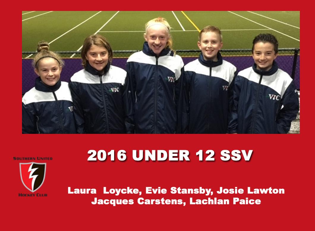 2016 U12 SSV