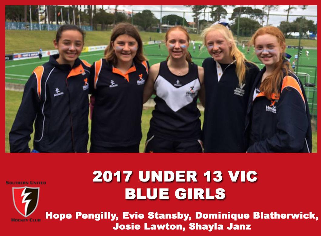 2017 Under 13 Blue Girls