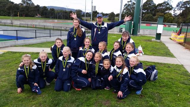 Under 12 SSV Girls 2014.