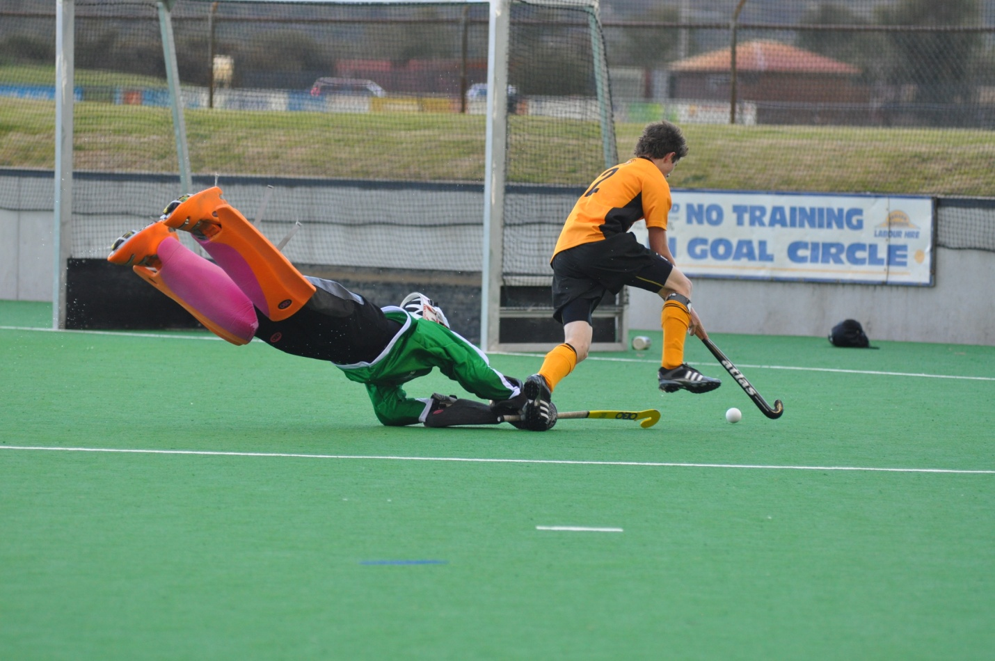 Calling All Junior Goalkeepers Southern United Hockey Club