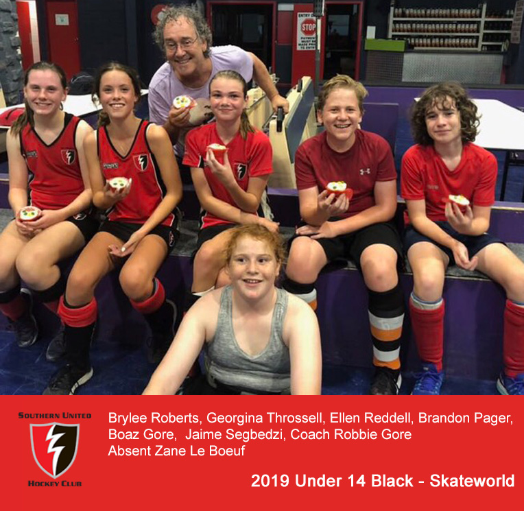 2019 Under 14 Black @ Skateworld