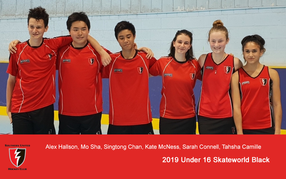 2019 Under 16 Black @ Skateworld