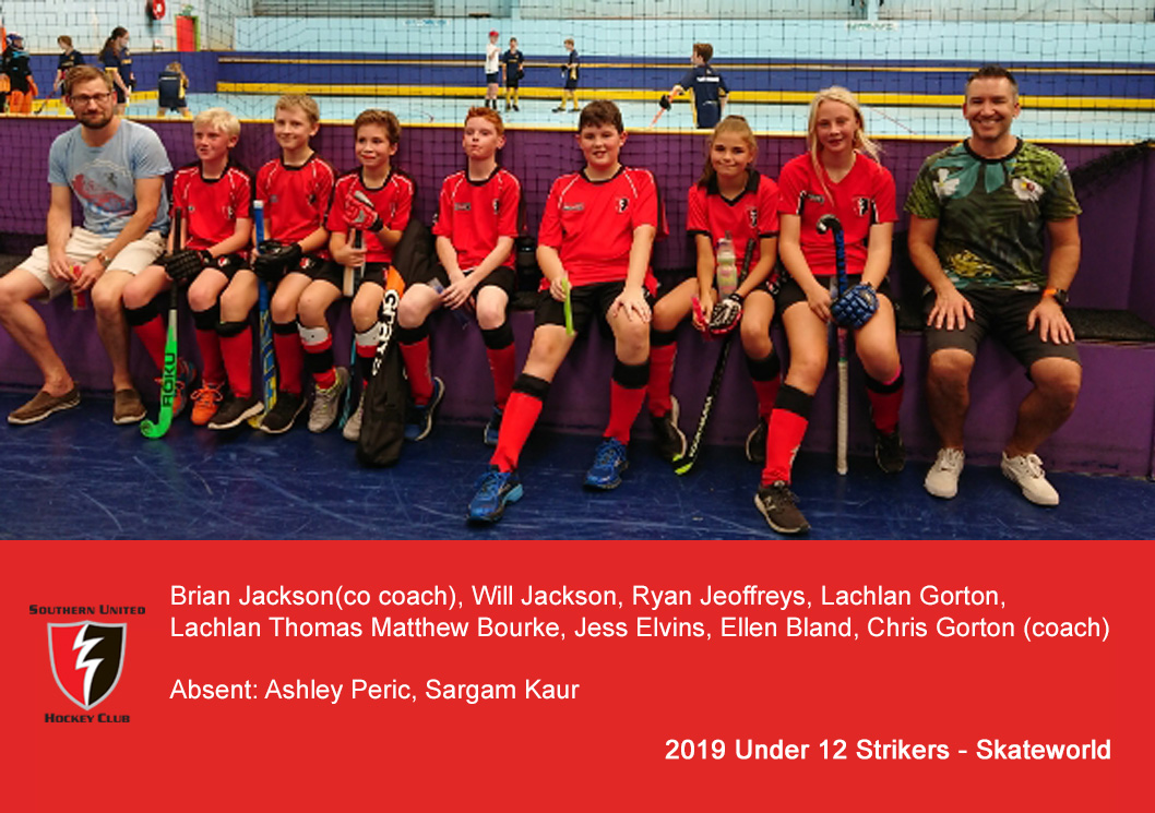 2019 Under 12 Strikers @ Skateworld