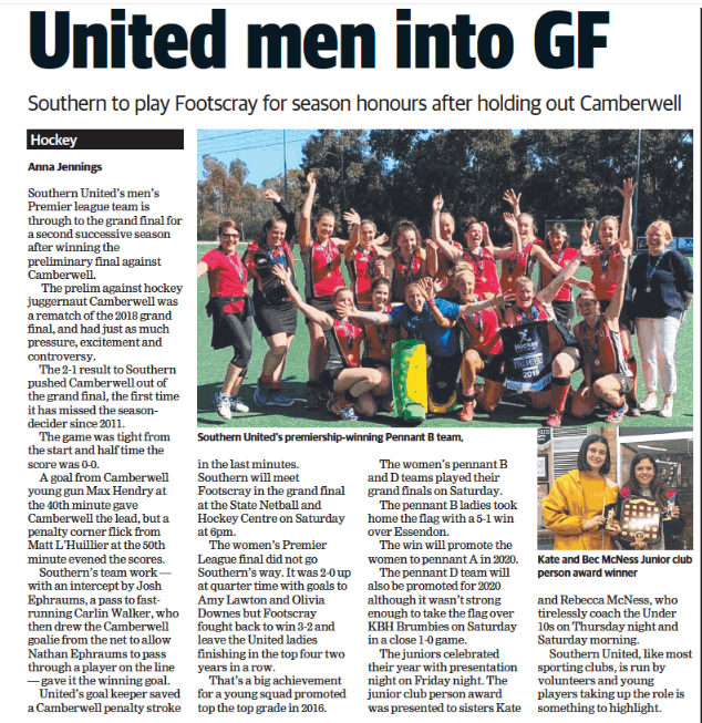 Kingston/Moorabbin Leader 2019-09-18