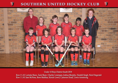 UNDER 10 BOYS DISTRICT SOUTH