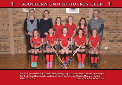 UNDER 10 GIRLS DISTRICT SOUTH