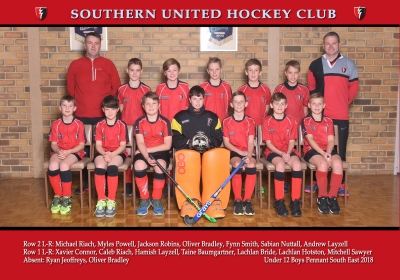 UNDER 12 BOYS PENNANT SOUTH EAST