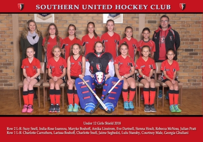UNDER 12 GIRLS SHIELD