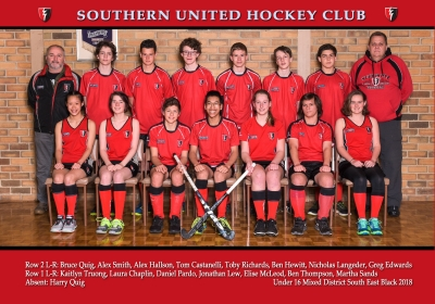 UNDER 16 MIXED DISTRICT SOUTH EAST BLACK