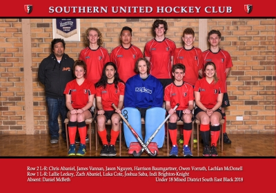 UNDER 18 MIXED DISTRICT SOUTH EAST BLACK