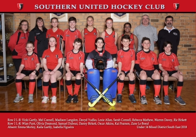 UNDER 14 MIXED DISTRICT SOUTH EAST