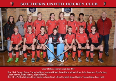 UNDER 14 MIXED PENNANT SOUTH EAST