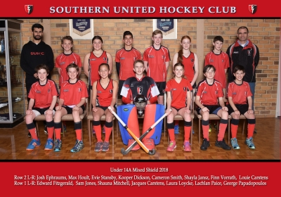 UNDER 14A MIXED SHIELD