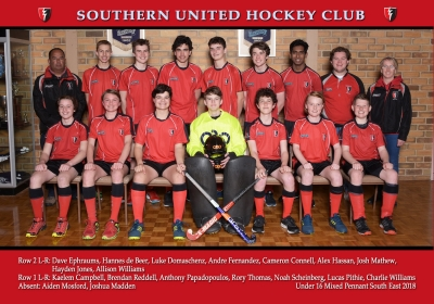 UNDER 16 MIXED PENNANT SOUTH EAST