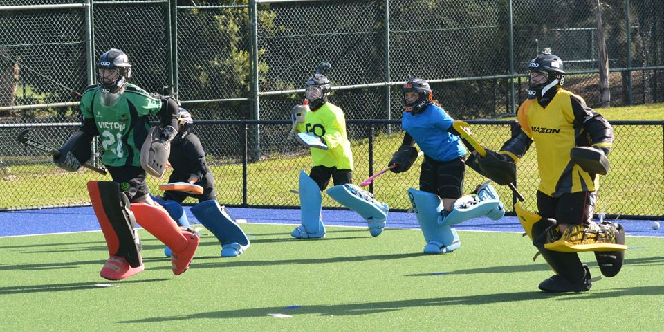 goalies running