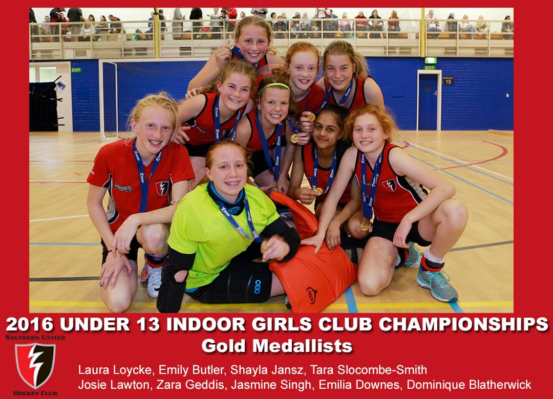 2016 Indoor Club Champs Girls U13