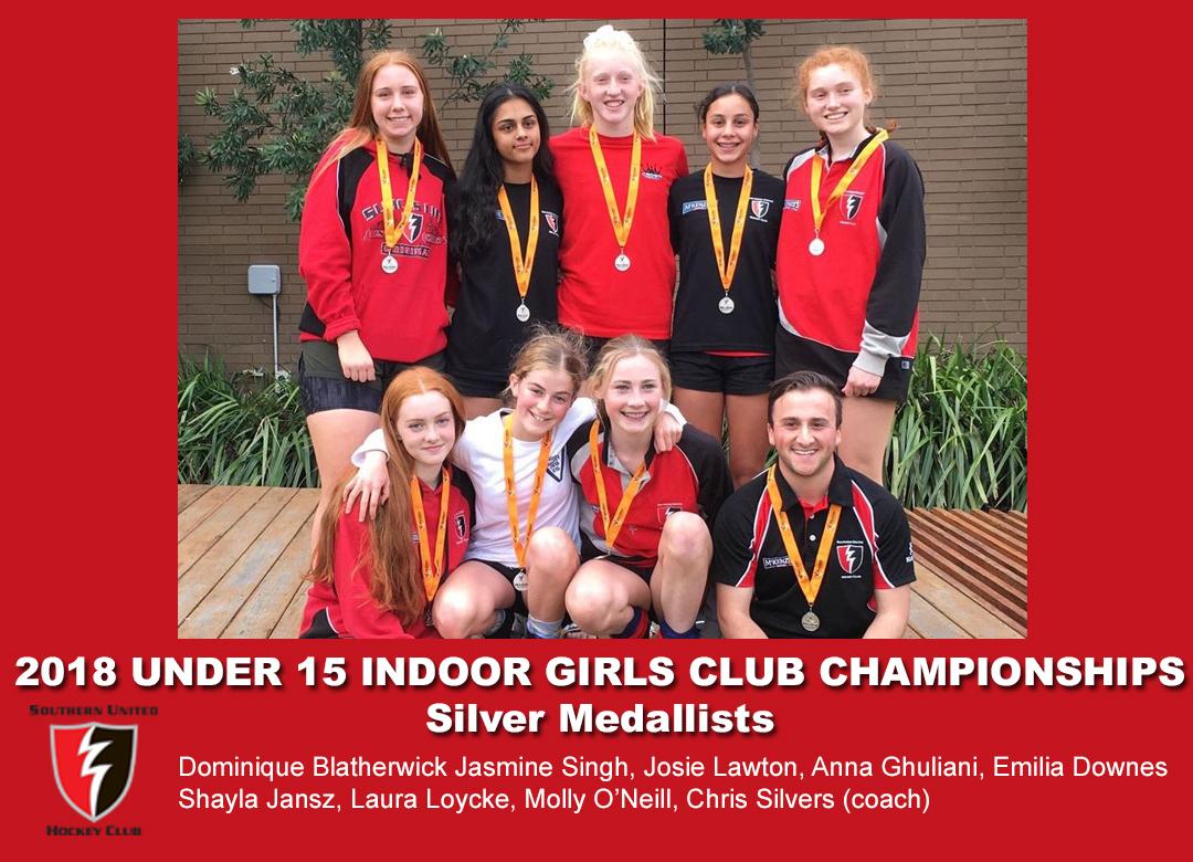 2018 Indoor Club Champs Girls U15