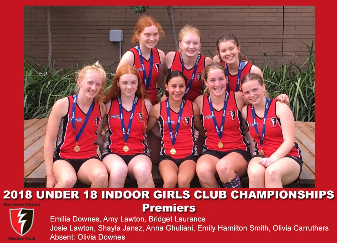 2018 Indoor Club Champs Girls U18