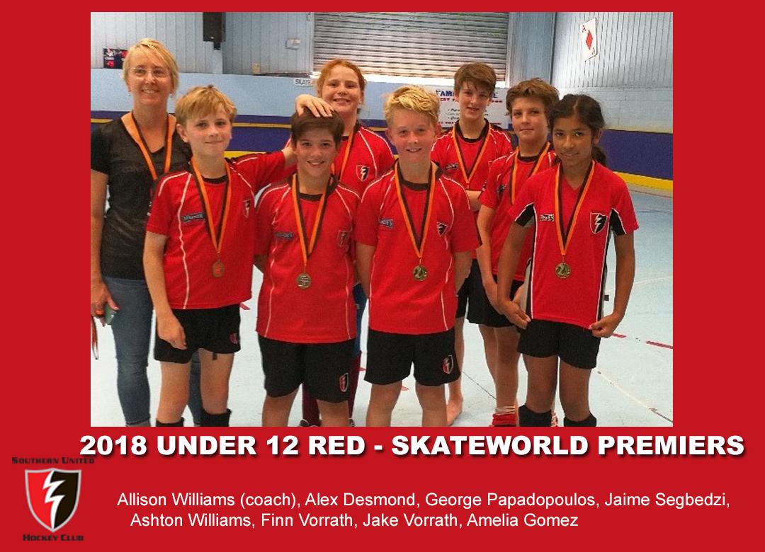 2018 Indoor Skateworld U12 Red