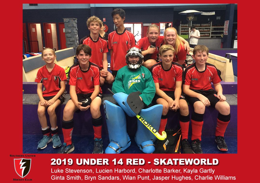 2019 Indoor Skateworld U14 Red