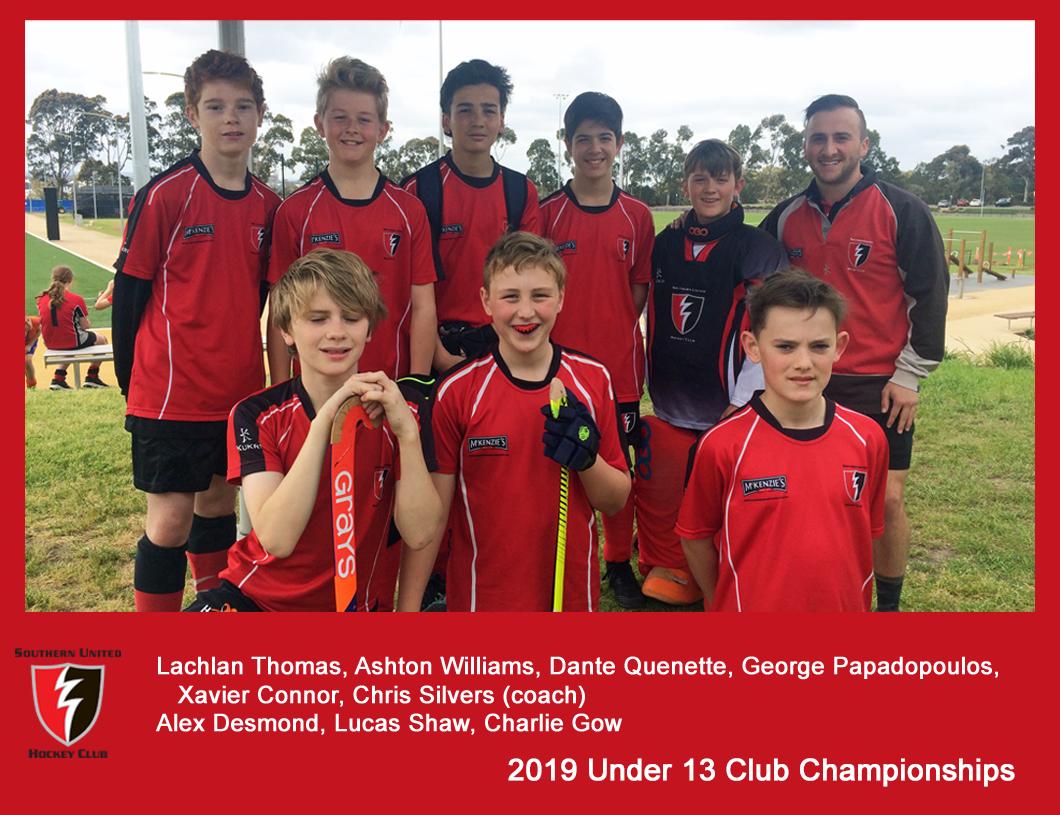 2019 Indoor Club Champs U13 Boys