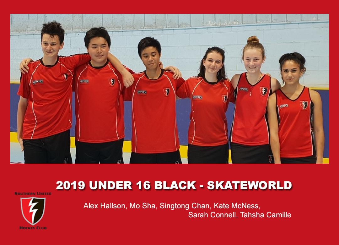 2019 Indoor Skateworld U16 Black