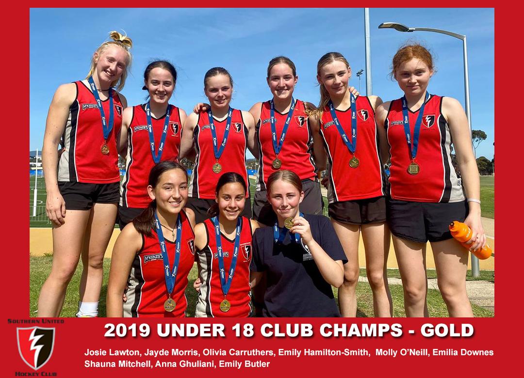 2019 Indoor Club Champs U18 Girls