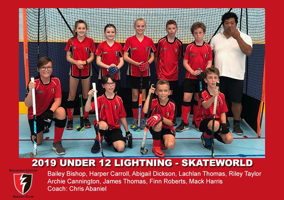 2019 Indoor Skateworld U12 Lightning