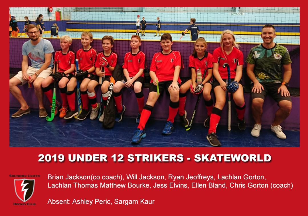 2019 Indoor Skateworld U12 Strikers