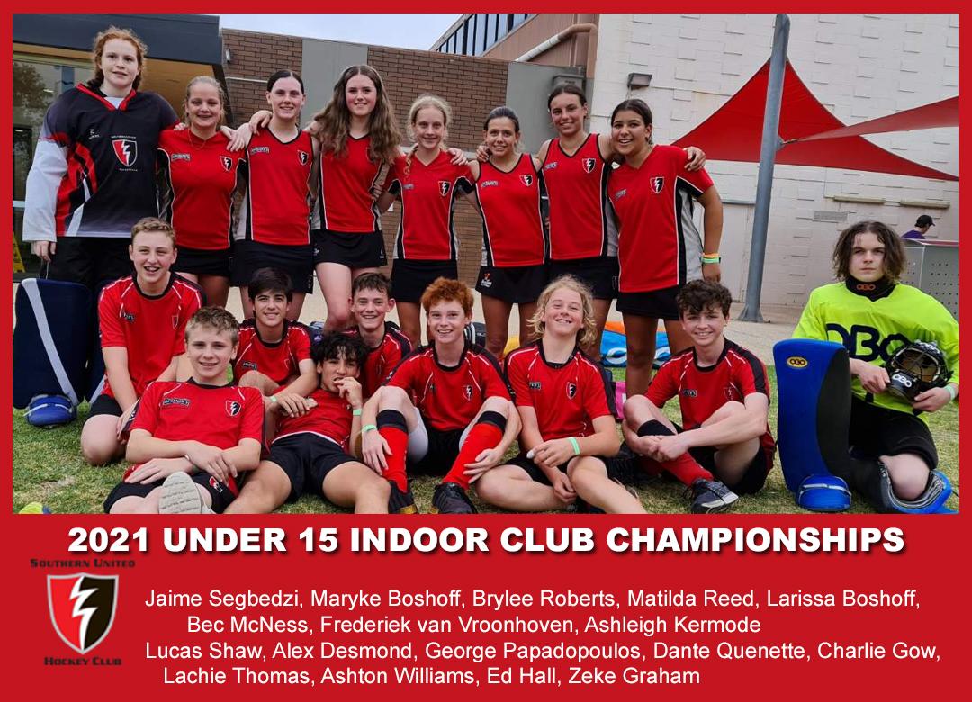 2021 Indoor Club Champs U15