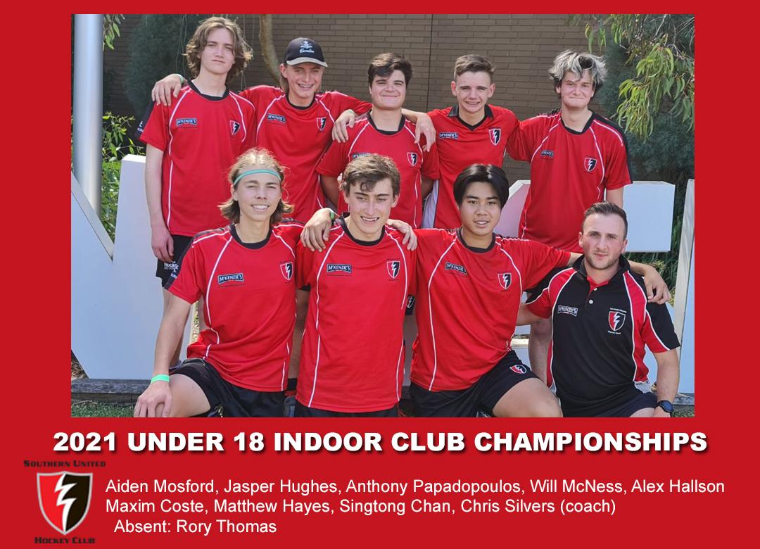 2021 Indoor Club Champs U18 Boys