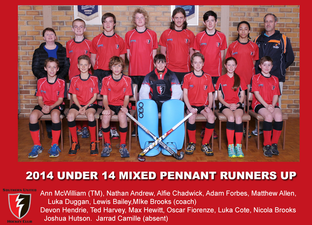 2014 Outdoor U14 Mixed Pennant