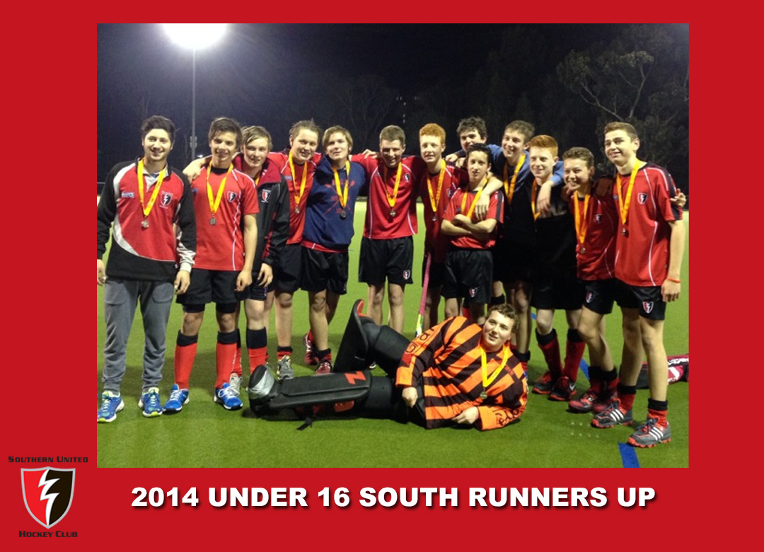 2014 Outdoor U16 South Runners Up