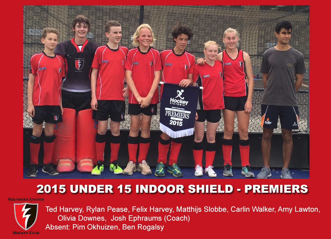 2015 indoor u15 shield