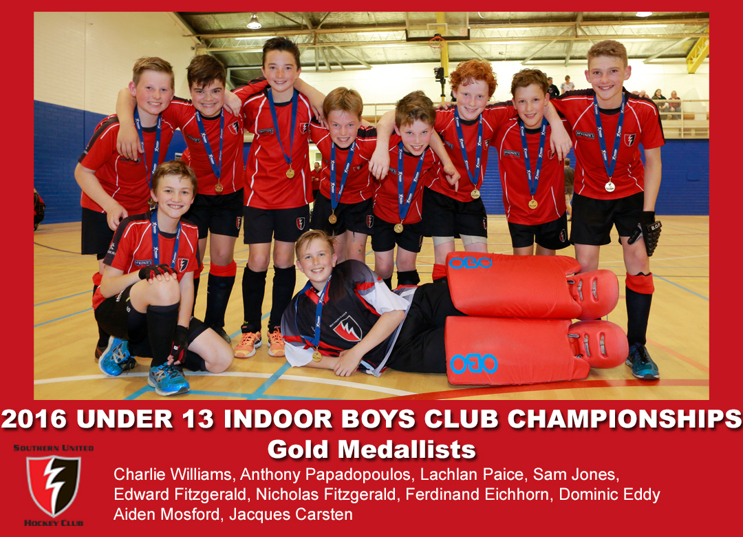 2016 Indoor U13 Boys Club Champs