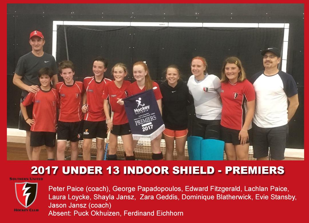 2017 Indoor U13 Shield