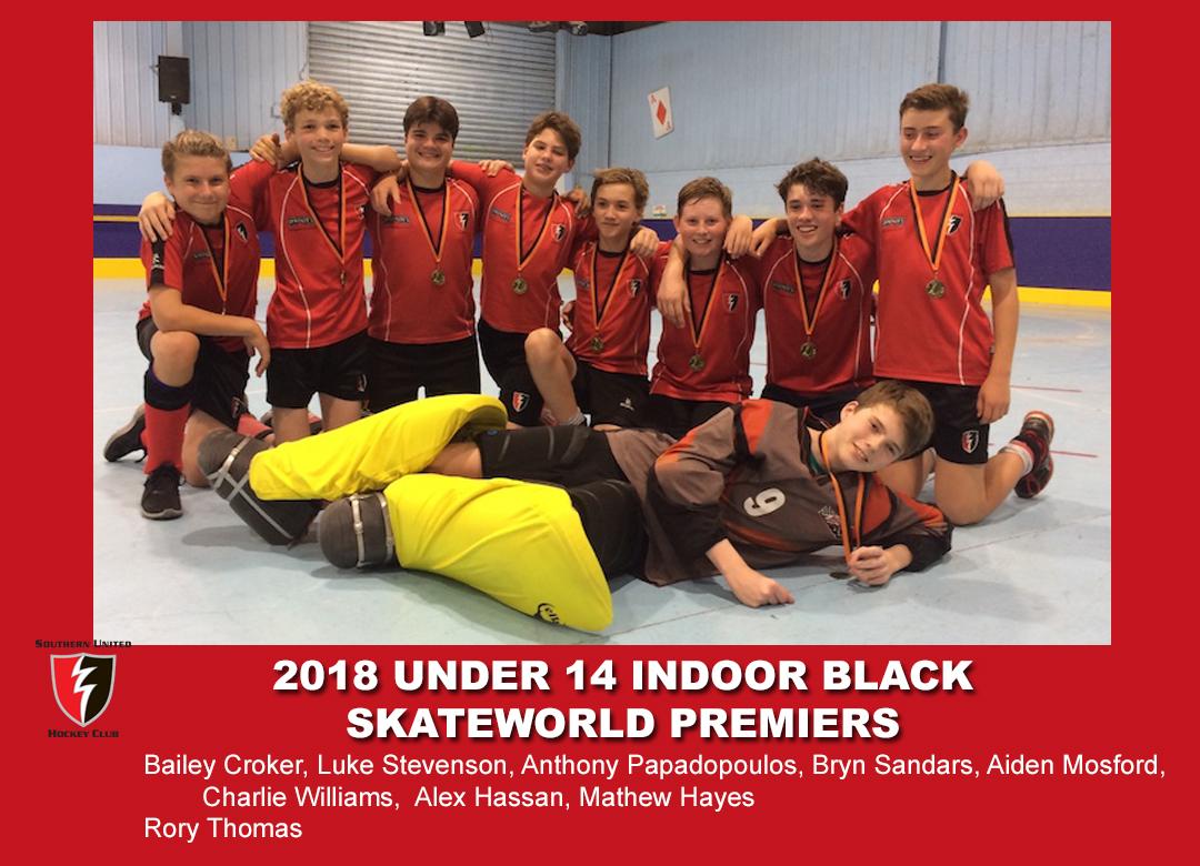 2018 Indoor U14 Black
