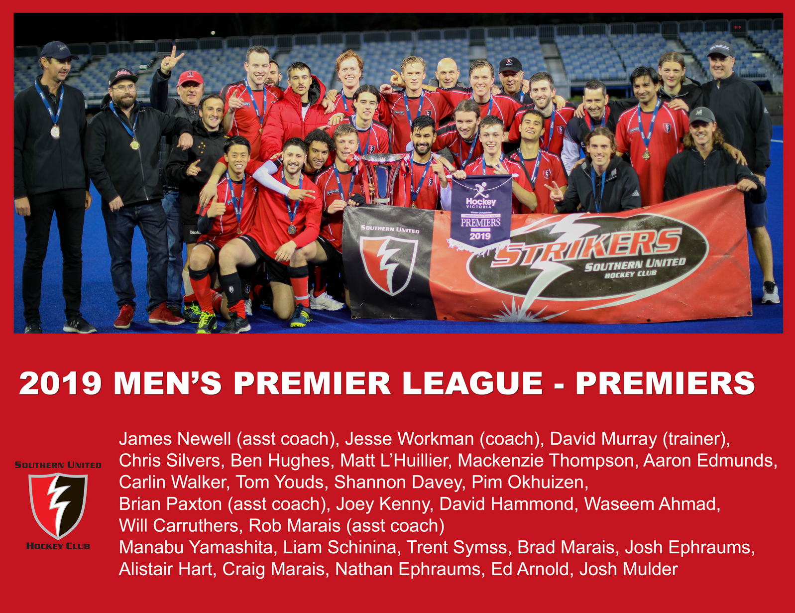 2019 Outdoor Men's Premier League Premiers
