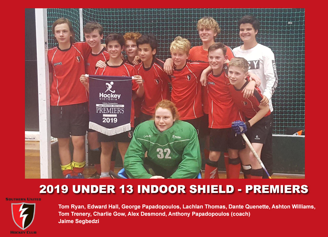 2019 Indoor U13 Shield