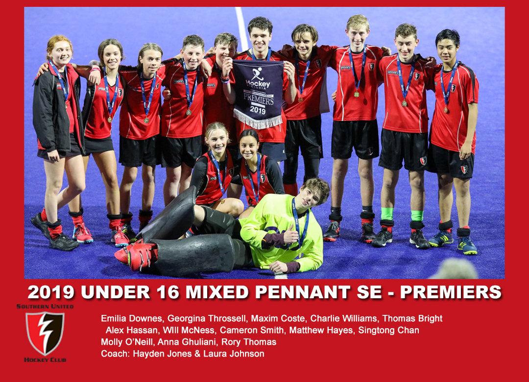 2019 Outdoor U16 Mixed Pennant